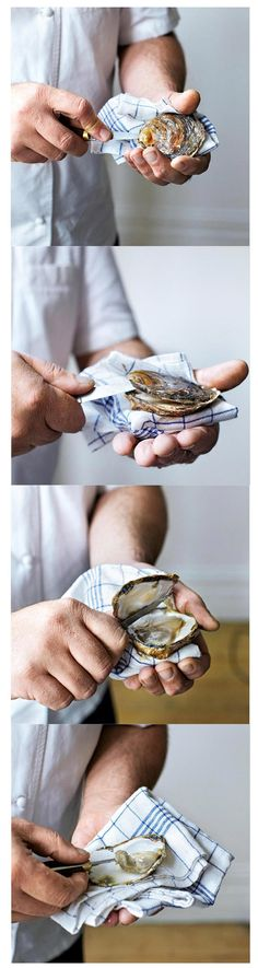 How To Shuck An Otster