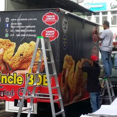 Uncle Bob Food Truck Custome Vehicle Decals / Sign Wrap  For more informatiom please contact us at; - Tel 60361860855. Email: sales@mixmedia.my  #sign #signage #signboard #roadsign #billboard #3d  #acrylic #egmetals #stainlesssteel #brass #metal #polycarbonate #acm #lighted #nonlighted #lasercut #lettering #logo #indoor #outdoor #shop #office #school #factory #decals #plaque #standoffsign by mixmediacreative