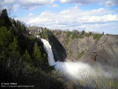La Chute Montmorency, une belle cascade à découvrir juste à côté de la ville de Québec
