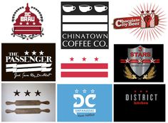 Great article from Metrocurean about local restaurants working the DC flags into their logos