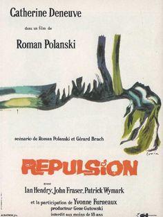 "MP872. ""Repulsion"" Polish poster by Jan Lenica (Roman Polanski 1965) / #Movieposter"