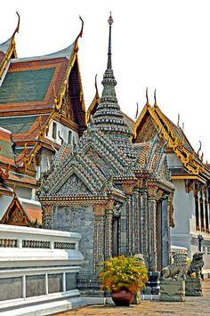 private area, Grand Palace, Bangkok, Thailand