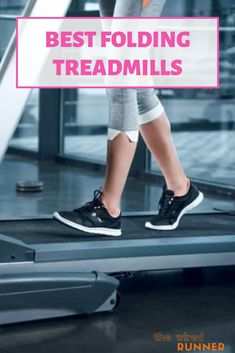 Treadmills are big machines, though. Runners who share living space, or live in an apartment or small house might need to consider size alongside performance and features. The best treadmills for those who have limited space are folding treadmills. Simply unfold yours when you want to work out, and fold it back up to store away in a corner. Running Plan, Running On Treadmill, Treadmill Workouts, How To Start Running, Running Tips, Running Training, Workout Gear, Folding Treadmill, Good Treadmills