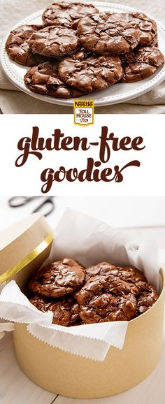 Bake a sweet gift for a gluten-free friend. These rich and chewy Flourless Chocolate Fudge Crinkle Cookies are ridiculously easy to make with TOLL HOUSE® Dark Chocolate Morsels and a handful of ingredients.