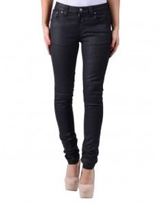 Nudie Black Skinny Lin Organic Leather Look Jeans Save up to 50% Off at Accent Clothing using Discount and Voucher Codes.