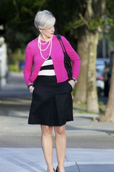 positively pink | Style at a certain age #overfiftyblogger