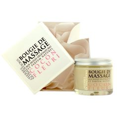 Bougie de massage cocon fleuri