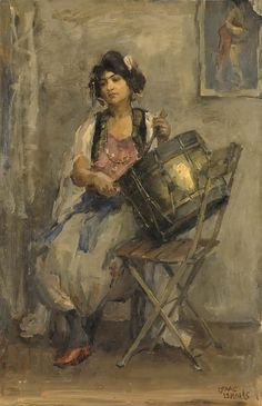 The Athenaeum - The Drummer Date unknown (Isaac Israels - )