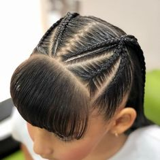Always the most beautiful # braids in Little Girl Braids, Braids For Kids, Girls Braids, Little Girl Hairstyles, Cute Hairstyles, Braided Hairstyles, Teenage Hairstyles, Curly Hair Styles, Natural Hair Styles