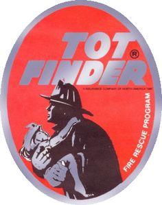 Tot Finder Fire Rescue Decals For Bedroom Windows
