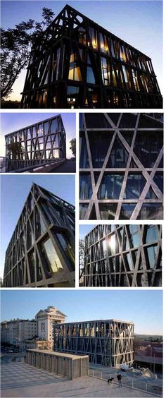 Centre Choreographique National in France by Rudi Riccioti Architects.