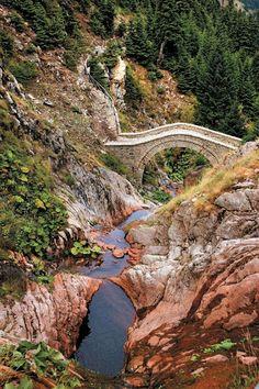 Anthohori bridge, Karditsa, Greece Λουκάς Διαμάντης
