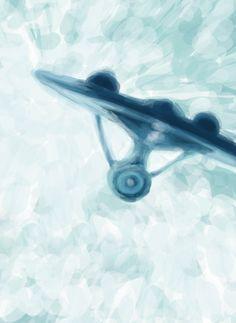 Star Trek - Enterprise NCC 1701 #startrek #jjabrams #ussenterprise