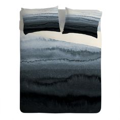 Monika Strigel WITHIN THE TIDES STORMY WEATHER GREY Sheet Set Lightwei | DENY Designs Home Accessories
