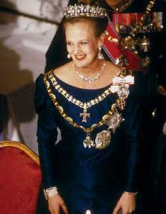 Queen Margrethe Ii, Crown Jewels, Queen Elizabeth Ii, Traditional Outfits, Captain Hat, Royalty, Europe, Photography, Fashion