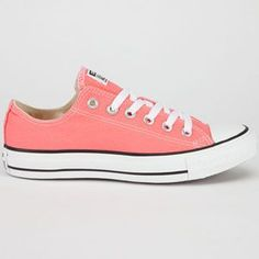 I want Converse so badly! I love these coral Chuck Taylor converse. Tilly's