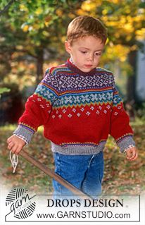Children - Free knitting patterns and crochet patterns by DROPS Design Knitting Patterns Boys, Knitting For Kids, Free Knitting, Baby Knitting, Crochet Patterns, Drops Design, Bb Reborn, Magazine Drops, Knitted Baby Clothes