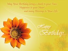 Spread joy and #happiness through this summery Happy Birthday e-card :) Get this now ->