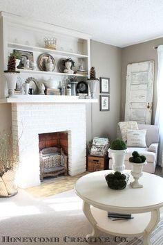 Vintage-inspired-neutral-and-white-living-room.jpg 400×599 pixels