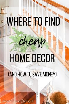 cheap home decor Where to find cheap decor for your home. I listed some of my favorite places to find affordable home decor, where to find designer dupes and how to save money when shopping online Affordable Home Decor, Cheap Home Decor, Diy Home Decor, Farmhouse Light Fixtures, Farmhouse Lighting, Family Room Decorating, Decorating On A Budget, Decorating Jars, Home Renovation