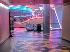 Present Day, Present Time. Dead Malls, Neon Aesthetic, Weird Dreams, Retro Futurism, Neon Lighting, Unique Lighting, Wall Collage, Aesthetic Pictures, Stranger Things