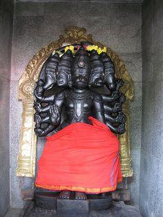Panchamukha Hanuman in Sri Padaivettamman Temple