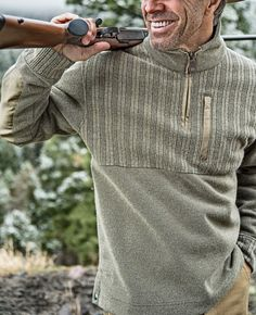 For more than 200 years, Remington firearms have been forged from the untamed spirit that will always define the American spirit — Revolutionizing an industry. This is Remington Country. Mens Winter Sweaters, Men Sweater, Fall Collections, What To Wear, Mens Fashion, Zip, Hiking Clothes, Mens Tops, Jackets