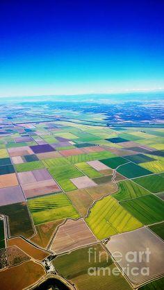 Sacramento Valley Aerial View Artist: Cheryl Young