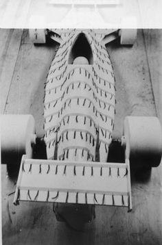 Modelo em escala para túnel de vento do FD01 – (F) Fittipaldi (D) Divila