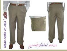 Descarga los Patrones de Costura del Pantalón fino para hombres DISPONIBLES EN 11 TALLAS INCLUYENDO LAS EXTRAGRANDES