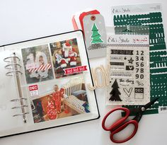 'Tis The Season Stamp Set from Elle's Studio - goes great with their Joyful collection for documenting the holidays!