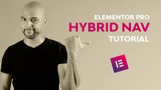 Elementor Pro Menu: in this episode, I'll show you how to create a hybrid navigation with Elementor Pro. And what I mean by hybrid navigation is : On desk. Menu, Tutorials, Menu Board Design, Wizards, Teaching