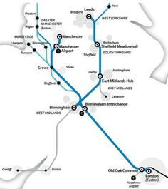 The High Speed Rail project holds great potential, but to make the most of that investment, the government must ensure all our railways are fit for the future. Leeds Bradford, London Birmingham, National Rail, High Speed Rail, London Map, Heathrow Airport, West Midlands, Cumbria