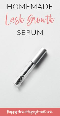 Looking for a DIY lash growth serum? Check out this homemade lash growth serum with essential oils. It is all natural and it is super easy to make. It also doubles as a homemade brow growth serum. If you want to know how to grow long eyelashes you need to read this! Brow Growth Serum, Brow Serum, Eyelash Serum, Best Eyelash Growth Serum, Make Eyelashes Grow, How To Grow Eyebrows, Thicker Eyebrows, Essential Oils For Hair, Natural Lashes