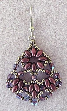 Linda's Crafty Inspirations: More Persian Fans Earrings Samples