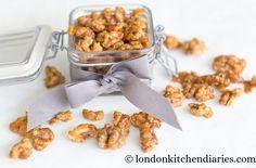 Caramelised Walnuts - London Kitchen Diaries