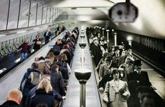 """History In Pictures on Twitter: """"The London Underground: Now and then. https://t.co/ClR8UX0mRH"""""""