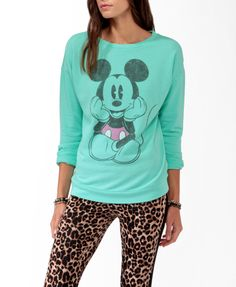 Classic Mickey Mouse Pullover | FOREVER21 - 2025809299 on Wanelo