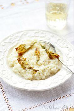 Risotto cacio e pepe aux artichauts croustillants -risotto with pepper and crispy artichokes