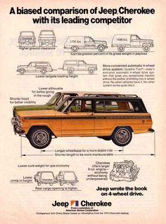 Old FSJ ad. Sooo much better than a Blazer!