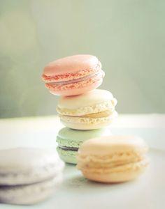 Sweet French Macarons.