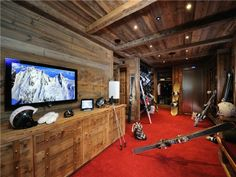 Best chalet interiors images beach homes