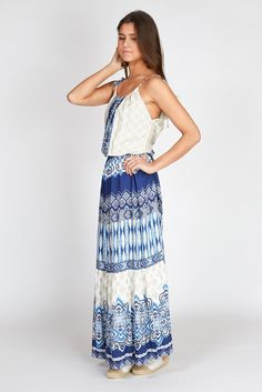 long bohemian dress #ss17 #halebob #ibiza #ibizastyle