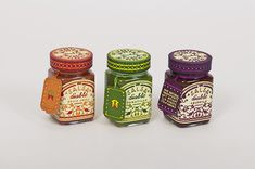 Colorful packaging for Diablo Salsa.