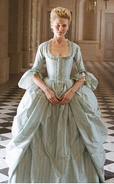 Marie Antoinette--movie (recent) just an extra. Couldn't find much on this particular dress.