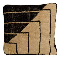 1stdibs - Black and White Abstract Pillow by Eero Saarinen, 1930s explore items from 1,700  global dealers at 1stdibs.com