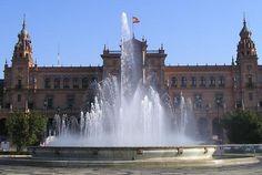 Plaza de España in Sevilla, España.  Just Sevilla in general - has a piece of my heart