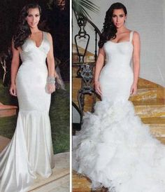 Love both of these dresses! Simply gorg.