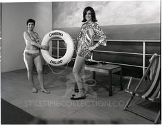 aai019 Butlins, Young Models, White Photography, Vintage Black, The Twenties, 1960s, Competition, Glamour, Black And White