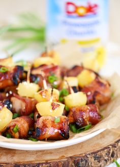 These Bacon Wrapped Chicken Teriyaki Bites are sure to be a huge hit on game day! Sweet and savory and packed full of flavor, these little morsels are bound to be your new favorite appetizer! Score!